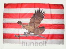 Árpád sávos barna turulos zászló