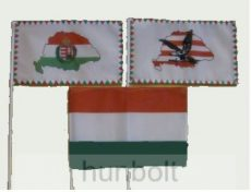 3 db kis zászló