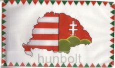 Farkasfogas osztott Nagy-Magyarországos zászló