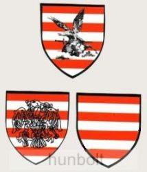 Árpádsávos, árpádsávos turulos, árpádsávos rakamazi turulos pajzs matrica (4,5*5 cm)