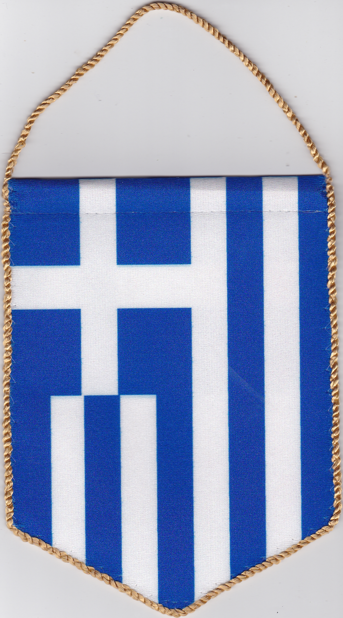 5 szöglető görög zászló visszapillantó tükörre