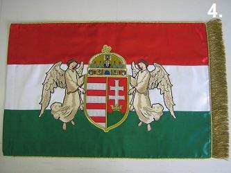 Hímzett angyalos zászló 4.