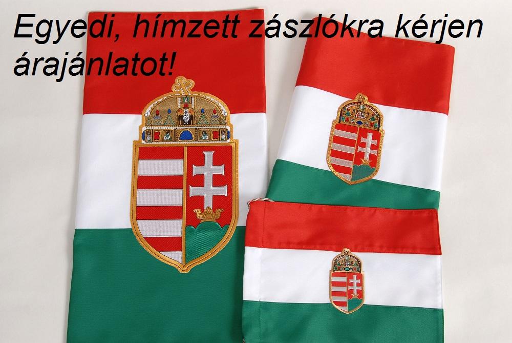 Egyedi és hímzett zászlóra kérjen árajánlatot!